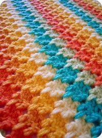This is a beautiful example of the Larksfoot crochet stitch. There is a wonderful How-To video here: | craft-corner.info