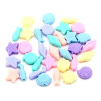 Pack of 100 Assorted Colours Ocean Spacer Beads. Mix of Candy Colour Charms. £5.79