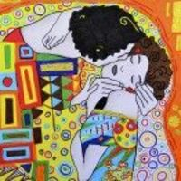 inspired by Gustav Klimt