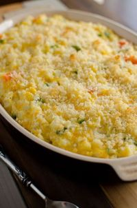 Winter Swiss Vegetable Casserole Recipe. Try this delicious casserole recipe that can be made ahead of time with savory vegetables and swiss cheese.