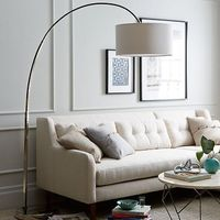 Overarching Floor Lamp - Polished Nickel #westelm