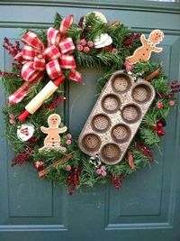 Awesome Christmas Wreaths Ideas For All Types Of Decoration14.jpeg