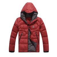 Discount The Mens North Face Down Jackets Red