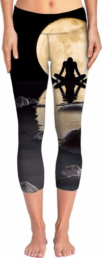Midnight Peace Yoga Pants $62.00