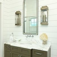 Old Village - Mt. Pleasant - traditional - bathroom - charleston - Structures Building Company