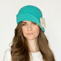 Charleston cloche hat crochet pattern small small2