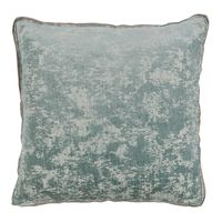 Medici Glacier Antiqued Chenille Pillow $225.00