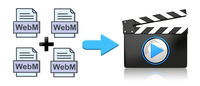 It's fairly simple to join several .webm files into a single file. This post will introduce two free WebM mergers to simplify the process.