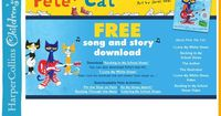 Free Pete the Cat activities and song downloads (on the right side of the page)