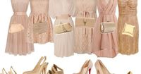 A fashion look from June 2012 featuring pink dress, halter top and ruched dress. Browse and shop related looks.