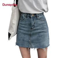 Price: $25.48 | Product: Women's Solid Casual High Waist Pockets Button Pencil Denim Skirts | Visit our online store https://ladiesgents.ca