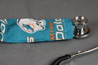 Stethoscope Cover - Miami Dolphins $7.99