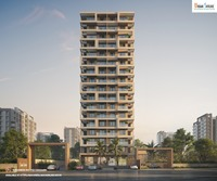 2 BHK Luxurious Flats Ravet Building Front View.png