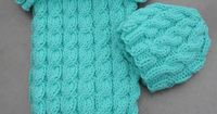 Suzies Stuff: COZY IN CABLES SLEEP SACK - free pattern