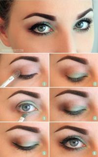 Hooded eye makeup - Play with inner corner color on top and bottom?