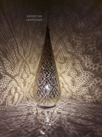 New Moroccan Brass Lamp Like the Christmas Tree $170.00