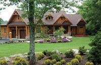 Stunning Mountain Ranch Home Plan - 15793GE thumb - 01