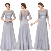 Pretty Long Lace Mother Of Bride Formal Evening Dresses $75.03