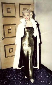 Marilyn in fifties evening dress