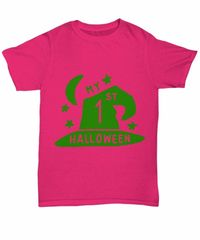 My 1st halloween halloween light unisex t-shirt $20.95