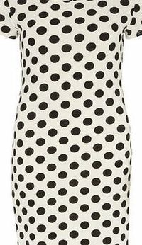 Dorothy Perkins Womens Izabel London Multi White Polka Dot Multi White polka dot bodycon dress. Round neckline. Short sleeves. Unfastened. Length 92cm. 95% Polyester,5% Elastane. Cold gentle machine wash. Dry cleanable. http://www.comparestorepric...
