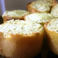 "Basil Pesto Bread Rounds | ""I couldn't make them fast enough for our group, very well received!"""