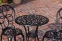 Arria Antique Bronze Cast Aluminum 3pc Bistro Set $169.99