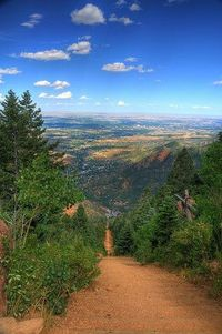 Hiked this on my 29th birthday before going to work. One of the beauties of living in Colorado Springs- could hike to 10,000 feet and then go to work that same day.