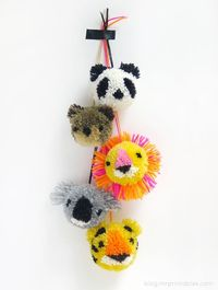 Here are some amazing and cute pom pom crafts for kids which they will love. These pom pom crafts project are