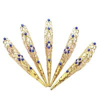Colored Rhinestones Hand India $29.00