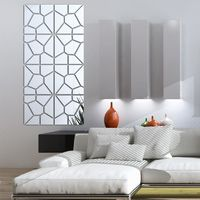 Modern Acrylic Mirror fashion 3D Wall Sticker $23.91