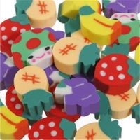 Fruit & Vegetable Erasers - Novelty Correction Supplies. Children's Craft Stationery. Ideal for Party Bags and School Pencil Case £2.59
