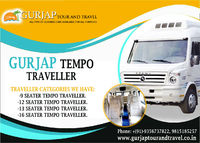 Apart from friendly drivers there are other things that is taken care of while you rent a tempo traveller service in Chandigarh. Book a tempo traveller and experience our services ensuring a comfortable journey: 9815185257 or visit: http://www.gurjaptoura...