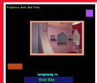 playhouse bunk bed plans