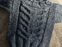 Ravelry: Stacked stag-horn baby sweater (worsted weight) pattern by Stacey Cilia