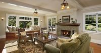 craftsman house plans with interior photos | ... In Traditional Furnishing Craftsman Style Homes Interior Designs