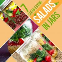 Make these healthy salads and take them to work and enjoy a delicious clean eating lunch.