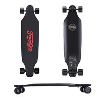 "Teamgee H9 37"" Electric Skateboard Dual Motor 23 MPH Top Speed Max Load 285lbs Skateboard With Wireless Remote Control"