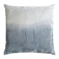 Seaglass Dip Dyed Velvet Pillow by Kevin O'Brien Studio $214.00