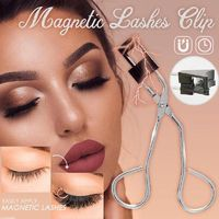 Magnetic Eyelash Curler With False Eyelashes $17.97