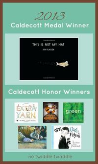 For today's picture book linky, The Children's Bookshelf, I thought that it would only be fitting that I highlight the winner of the Randolph Caldecott Medal fr
