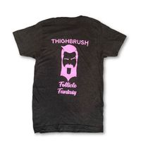 "THIGHBRUSH® - ""Follicle Fantasy"" - Men's T-Shirt - Charcoal Grey"