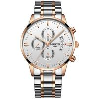 NIBOSI KALEI Stainless Steel Quartz watch $59.99