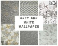 Grey and White Wallpaper: https://www.burkedecor.com/collections/grey-wallpaper