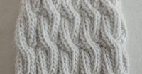 chunky cable hat, #13, 16 inch circular needles