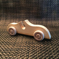 Roadster Maple Hardwood Classic Wooden Toys $7.95