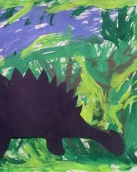 Travel back to the Jurassic age with this creative dinosaur activity that would make a great addition to any wall or fridge.