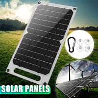 6W 1A USB 3000mah Multipurpose Portable Solar Battery Charger Solar Panel
