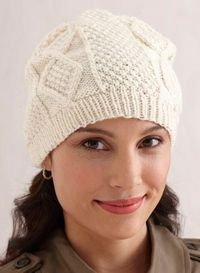 Free Knitting Pattern: Aran Hat