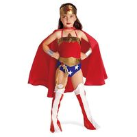 {Wonder Woman Costume} Seriously, I would have died for this costume as a little girl... minus the lipstick.